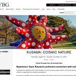 """草間彌生の展覧会 """"KUSAMA: Cosmic Nature"""" @ NY Botanic Garden (4/10/2021 - 10/31/2021)"""